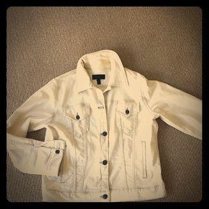 J Crew natural denim jean jacket
